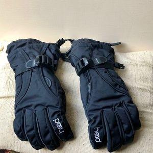 Head Outlast Ski Black Gloves Size M.